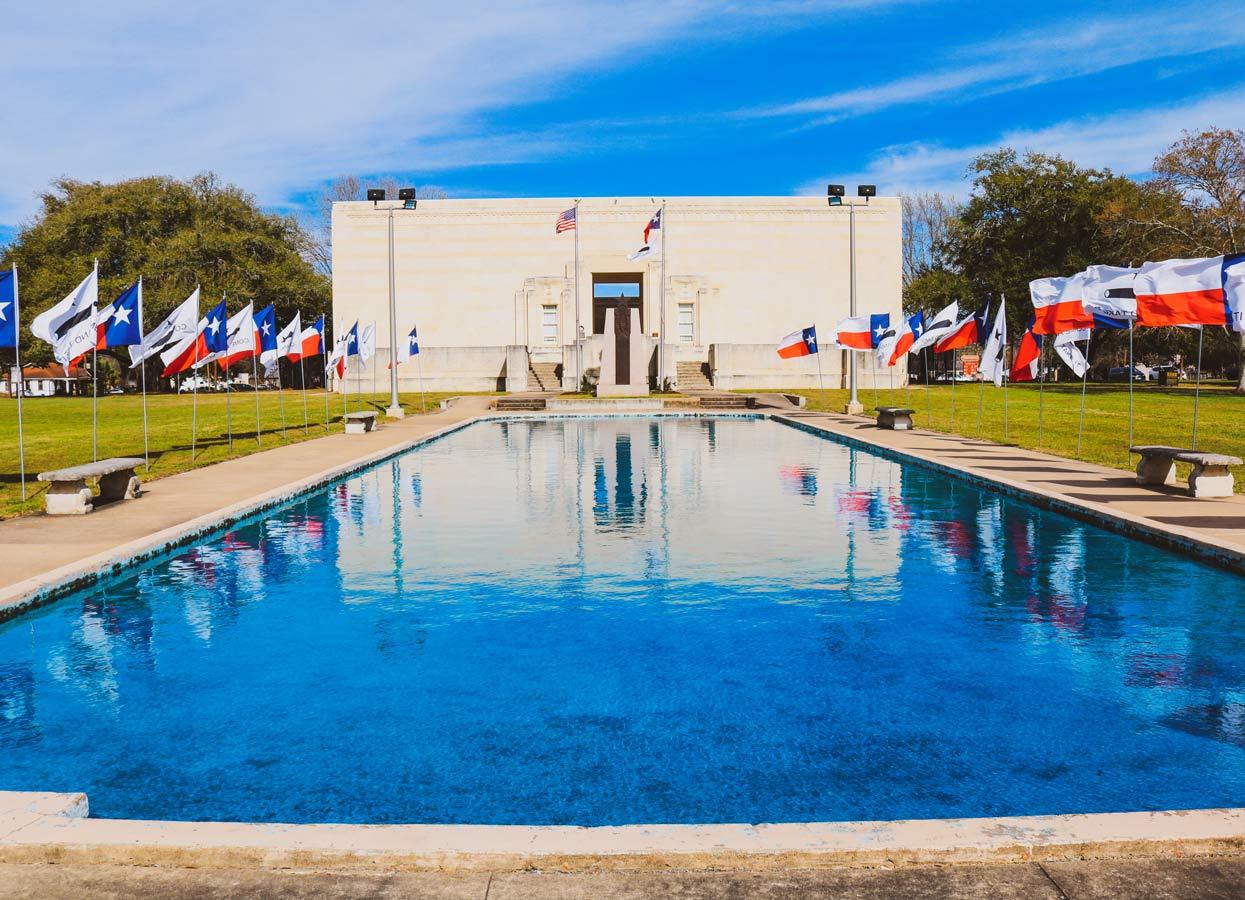 Showing the Gonzales Memorial Museum.
